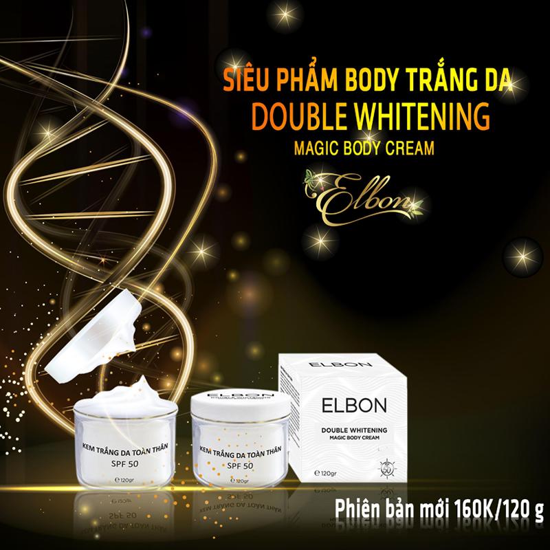 kem trắng da thảo mộc Elbon phiên bản mới - kem trắng da body